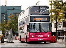 J3474 : Dundonald bus, Belfast by Albert Bridge