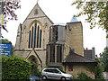 TQ1876 : St Luke's church, Kew - west end by Stephen Craven