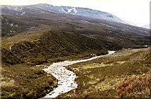 NN6175 : The Allt Coire Domhain by Nigel Brown