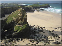 SW8363 : Whipsiderry Beach by Philip Halling