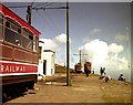 SC3987 : Snaefell Summit station by Dr Neil Clifton