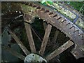 ST8373 : Rag Mill water wheel by David Corking