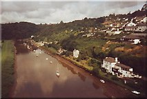 SX4368 : The River Tamar from Calstock viaduct, Cornwall and Devon by nick macneill