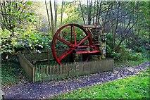 NU0702 : Water Wheel, Cragside by Paul Buckingham