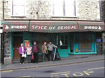 NY3704 : Spice of Bengal, Ambleside by Kenneth  Allen