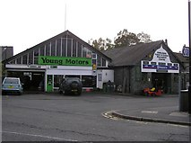 NY3704 : Young Motors, Ambleside by Kenneth  Allen