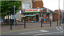 SP8733 : Sai Super Market, Elizabeth Square, Bletchley by Cameraman