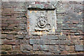 SO4108 : Coat of arms, Raglan Castle by Andy F