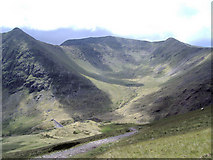 NY3416 : Brown Cove from Red Screes, Keppel Cove by P Leedell