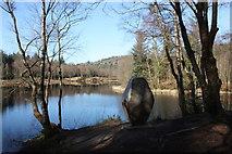 NX4465 : Bruntis Loch by Philip Wallbank