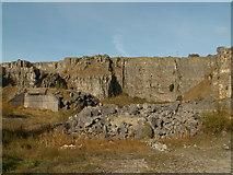 SK2076 : Furness Quarry NE Face by John Fielding