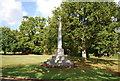 TQ5446 : War Memorial, Leigh by N Chadwick
