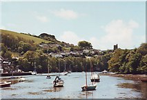 SX5547 : Newton Creek looking towards Noss Mayo, Devon by nick macneill