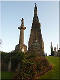 NS6065 : Glasgow: Duncan MacFarlan memorial by Chris Downer