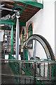 SJ8397 : The Haydock Colliery beam engine. by Chris Allen