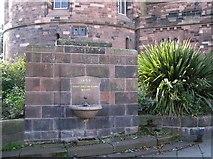 NY4055 : Robert Ferguson Fountain, Carlisle by Kenneth  Allen