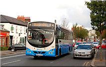 J3272 : Banbridge bus, Belfast by Albert Bridge