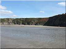 SM8513 : The Settlands at low tide by David Smith