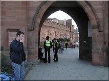 NY4055 : Archway, Carlisle by Kenneth  Allen