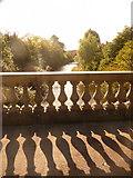 NS5766 : Glasgow: the River Kelvin in Kelvingrove Park by Chris Downer