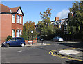 NZ2566 : Norham Place meets St George's Terrace, Jesmond by Pauline E