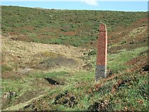 SM8519 : Disused colliery south of Newgale by David Smith