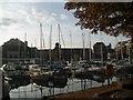 TQ3380 : St Katharine Docks by Paul Gillett