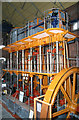 TQ8117 : Steam engine, Brede Waterworks by Chris Allen