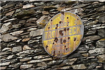 NY4002 : AA Sign at Town End, Troutbeck by Peter Trimming