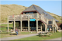 SW5842 : Godrevy Beach Cafe by Andy F