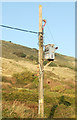 SW5842 : Transformer supplying the 'Sandsifter' pub, Godrevy by Andy F