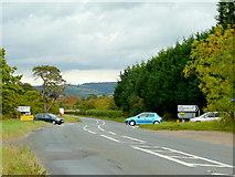 SP0232 : Shetcombe crossroads by Jonathan Billinger