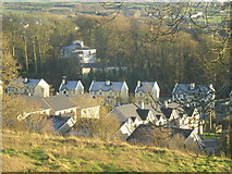 R4136 : View over new estates at south western edge of village. by Anthony Holmes