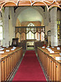 TF8817 : All Saints church - view east by Evelyn Simak