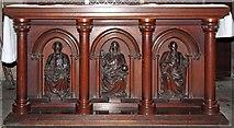TQ2479 : St John the Baptist, Holland Road, London W14 - Altar by John Salmon