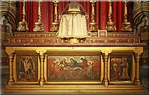 TQ2479 : St John the Baptist, Holland Road, London W14 - High altar by John Salmon