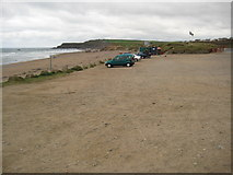 SS1902 : Car Park, Widemouth Bay by Philip Halling