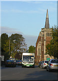 SK6443 : Bus to Nottingham by Alan Murray-Rust