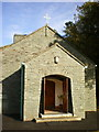 NY3408 : The Catholic Church of Our Lady of the Wayside, Grasmere, Porch by Alexander P Kapp