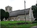 TG3708 : St Edmund's church in South Burlingham by Evelyn Simak