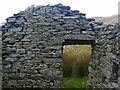 NY4811 : Ruin Doorway, High Loup by Michael Graham