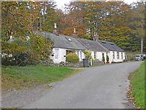 NX8199 : Row of cottages by Oliver Dixon