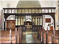 TG1441 : All Saints church - rood screen by Evelyn Simak