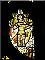 TG1115 : All Saints church - medieval glass by Evelyn Simak