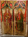 TF5814 : St Mary's church - rood screen panels by Evelyn Simak