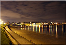 J5182 : Ballyholme Beach at night by Rossographer