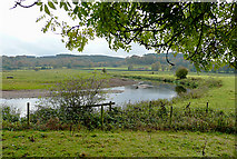 SK0120 : The River Trent near Colwich, Staffordshire by Roger  Kidd