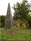SS4918 : An obelisk erected to commemorate the Battle of Waterloo by Roger A Smith