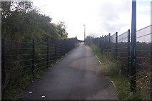 TQ6174 : Footpath to Swanscombe by David Anstiss