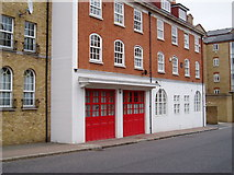 TQ3680 : Pageants Wharf Fire Station. Rotherhithe Street, London, SE16 by Chris Lordan